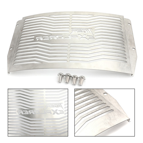 Stainless Steel Radiator Grill Guard For Triumph Tiger 1200 Explorer XC/XCA/XCX/XR/XRT/XRX 12-19 Silver