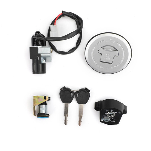 Ignition Switch Fuel Gas Cap Seat Lock Key Kit For Honda CBR150R 14-16 CBR125R JC50 11-18 CBR125RT CBR125RS 12-16 CBR125RF 2016 35010-KTY-H50