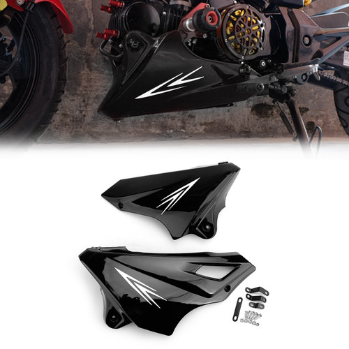 Engine Protector Guard Cover Under Cowl For Honda MSX125SF 16-17 MSX125 13-16 Black