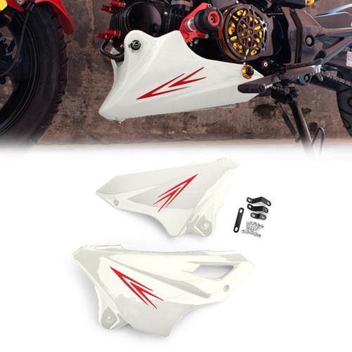 Engine Protector Guard Cover Under Cowl For Honda MSX125SF 16-17 MSX125 13-16 White