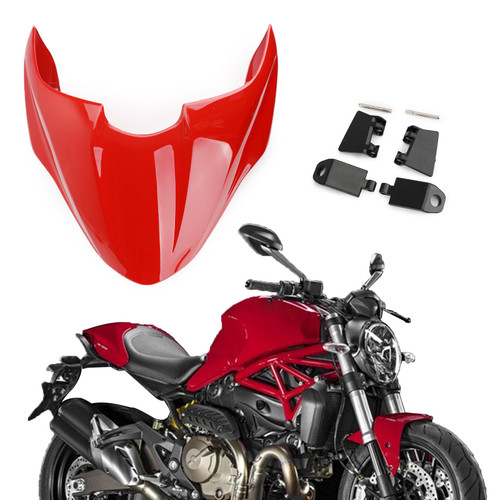 Seat Solo Cowl Fairing Cover For DUCATI 821 15-16 Red