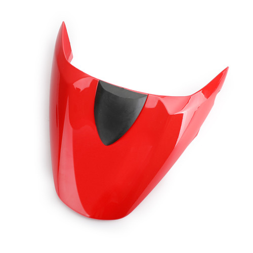 Passenger Rear Seat Cover Cowl For DUCATI 796 795 M1100 696 2009-2012 Red