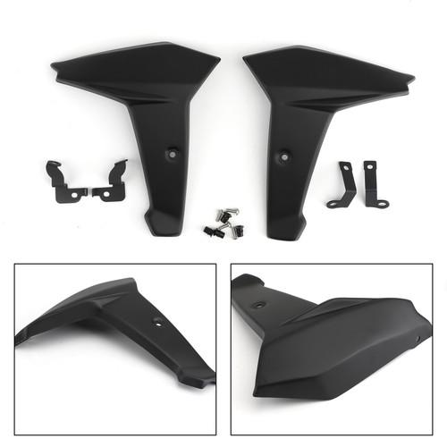 Radiator Side Cover Fairing Panels for Yamaha MT-09 FZ-09 FJ-09 14-16 Black