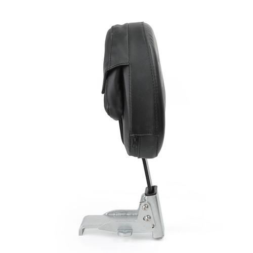 Driver Backrest For Harley models 10-19 such as Dyna Sportster Touring Softail Victory High Ball 10-19 Black