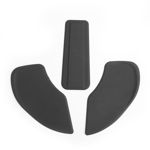 Tank Traction Pads Side Gas Knee Grip Protector For BMW R NINE T 14-17 Black