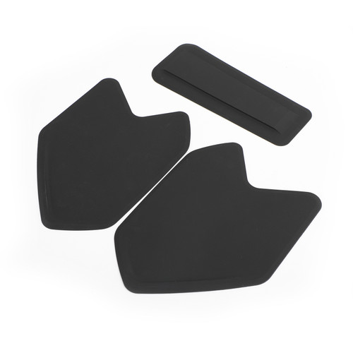 Tank Traction Pads Side Gas Knee Grip Protector For BMW R1200GS LC ADV 08-17 Black