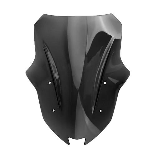 Windshield Windscreen For Kawasaki Ninja 1000 Z1000SX 17-19 Black