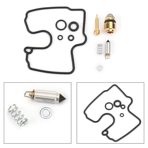 Carburetor Carb Repair Rebuild Kit For KAWASAKI Ninja ZX6R ZX600J 00-02 ZX600G 88-89 ZZR600 07-08 ZZR600 05
