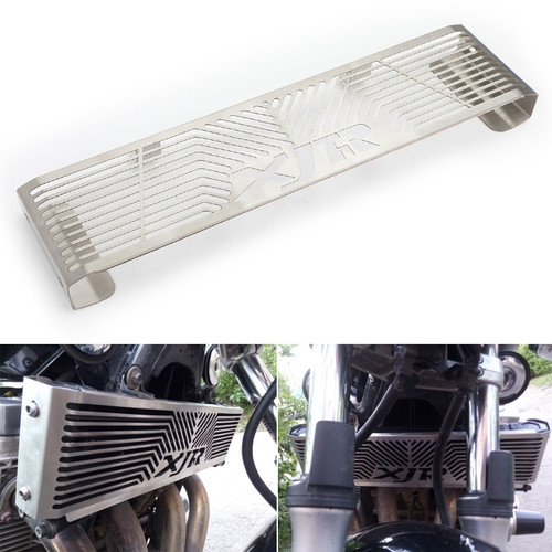 Radiator Grill Guard Protector For Yamaha XJR 1300 XJR1300 98-08 Silver