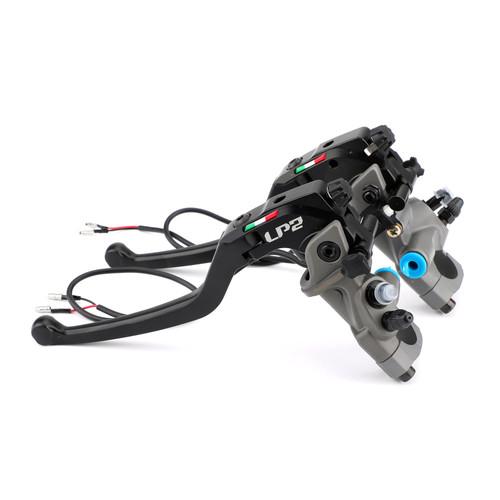 Brake Master Cylinder For Kawasaki ZX1100/ZX-11 90-01 ZRX1100 99-07 ZZR1200 02-05 ZX1400 06-12 GTR1400 07-12 GTR1000 92-06 VN1500 02-03 VN1600 03-05 Black