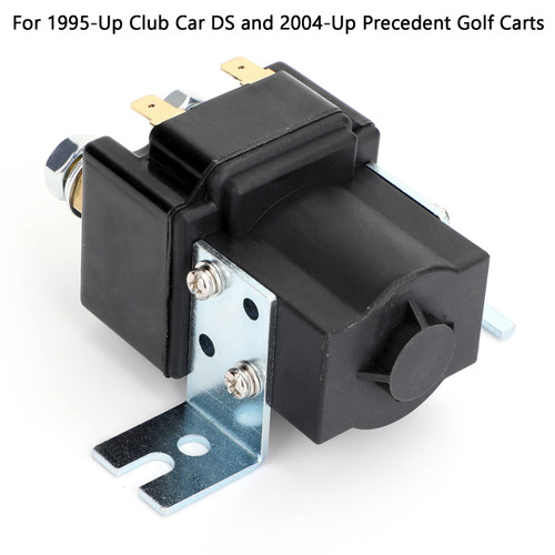 Club Car Golf Cart 48-Volt Solenoid For DS & Precedent Models 2000+ 101908701 Black