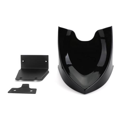 Front Chin Spoiler Air Dam Fairing For Harley Sportster XL883 XL1200 48 72 04-19 Gblack