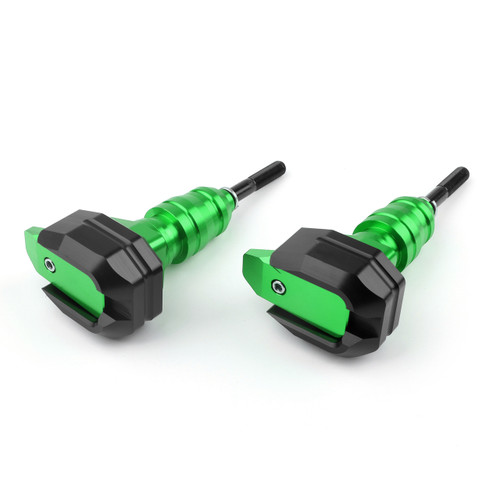 Frame Sliders Crash Protector Kawasaki Z1000 (10-15), Green