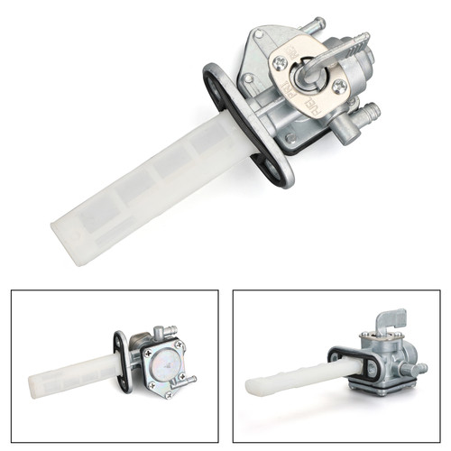Petcock Fuel Switch Valve Assembly 51023-1375 For Kawasaki 1980 KZ750-H1 LTD FUEL TANK 80 H1 81-83 H2-H3-H4 KZ1000-K1 LTD FUEL TANK KZ1000-M1 CSR FUEL TANK 1981