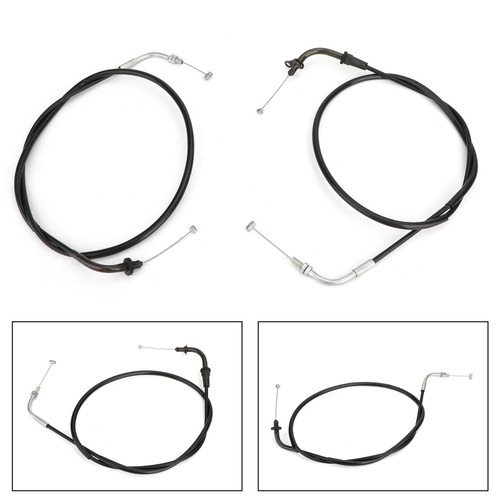 Throttle Cable Wires 5PB-26311-10 For Yamaha XVS1100 Drag Star 99-03 05-08 XVS1100 V-Star Custom 99-11 XVS1100 V-Star Midnight Custom 05-09 XVS1100A Drag Star Classic 00-08 Black