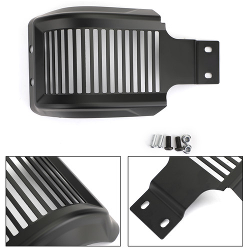 Skid Plate Engine Protection For Harley Sportster 883 Low XL883L 1200 Custom XL1200C 1200 Roadster XL1200R 1200 Low XL1200L XL1200X 04-18 Mblack