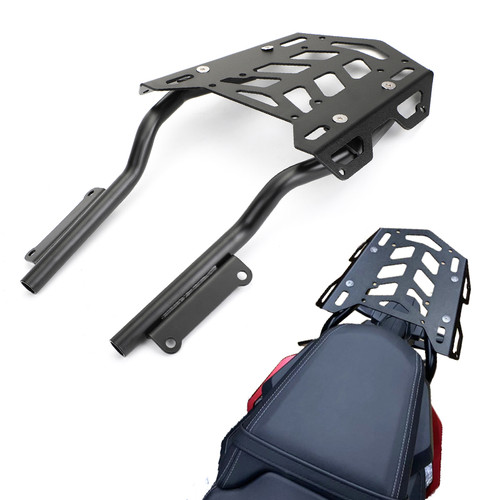 Rear Top Case Carrier Luggage Rack for Honda CBR650R 19-20 Black