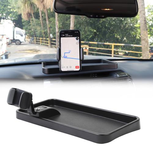 360 Degree Phone Cellphone Holder Mount Storage Box For Toyota 4Runner 2010+ Black