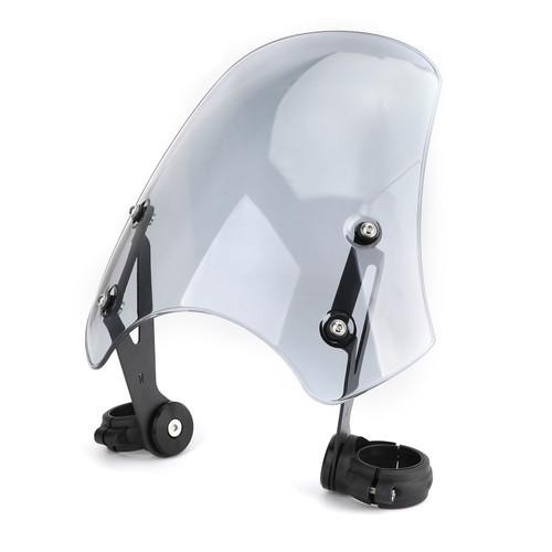 Windscreen Windshield for Harley FXST Softail 05-11 FXSTB 00-09 FXSTC 07-10 FXSTD 01-07 FXS Blackline 11-13 FXDB 06-19 FXDL 96-18 Gray