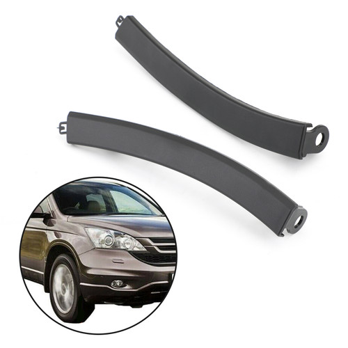 Front Bumper Wheel Fender Molding Trim Left+Right For Honda CR-V EX-L 4Cyl 2.4L CR-V LX 4Cyl 2.4L 07-11 CR-V LX 4Cyl 2.4L 144CID 07-08 CR-V SE 4Cyl 2.4L 2011