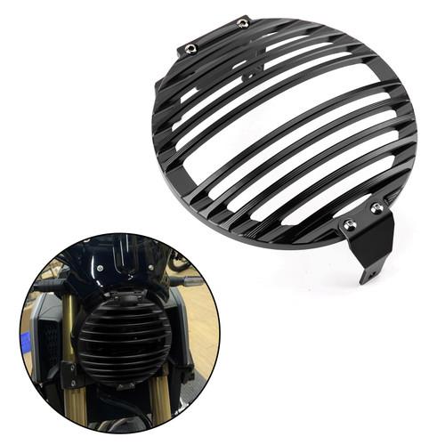 Billet Aluminum Headlight Guard Grill Protector for Honda CB650R 2019-2020 Black