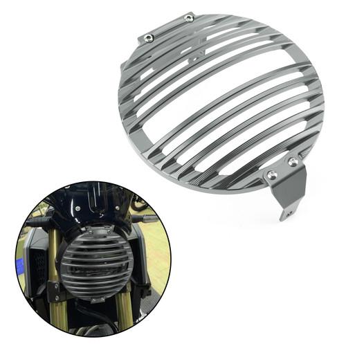 Billet Aluminum Headlight Guard Grill Protector for Honda CB650R 2019-2020 Titanium