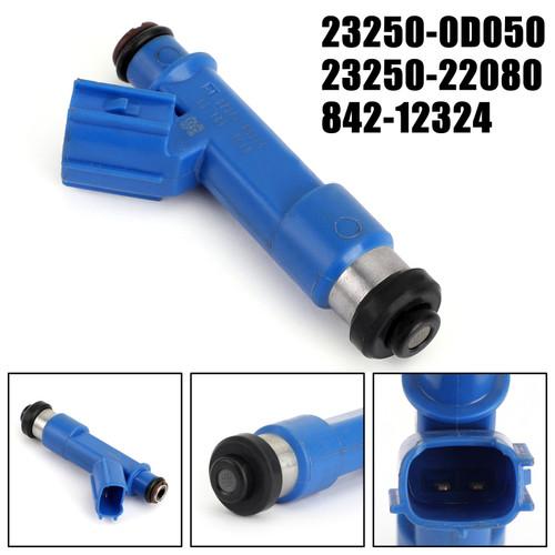 Fuel Injectors 23250-22080 1PCS for Toyota Corolla Matrix 23250-0D050 Blue