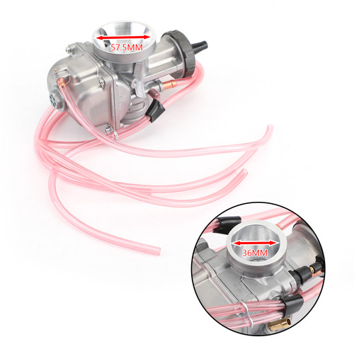 36mm PWK Airstriker Carburetor For Keihin Scooter LT500 ATC250R CR250 TI