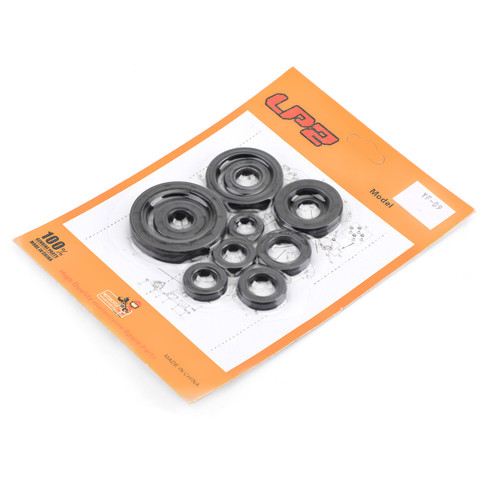 Engine Oil Seal Kit Set 11pcs Seals for Honda CR125R CR125 CR 125 125R 2004-2007