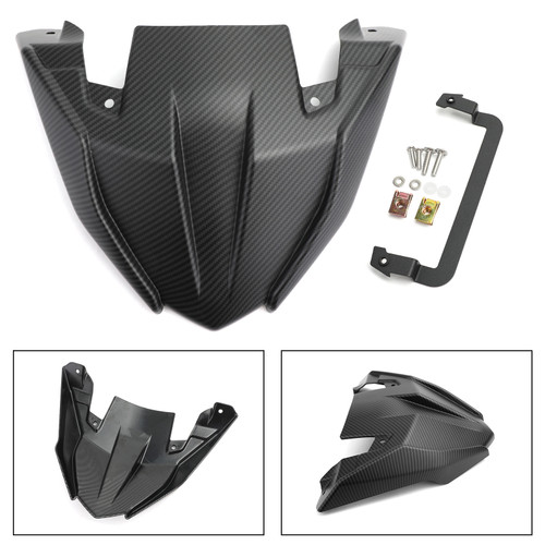 ABS Front Fender Beak Extension For Yamaha MT09 Tracer/GT 2018-2020 Matt Carbon