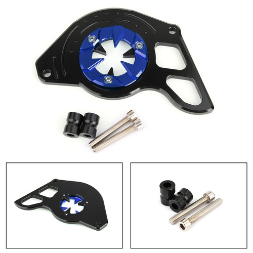 Left Side Front Sprocket Chain Guard Cover for Honda MSX125 13-15 MSX125SF 16-19 Blue