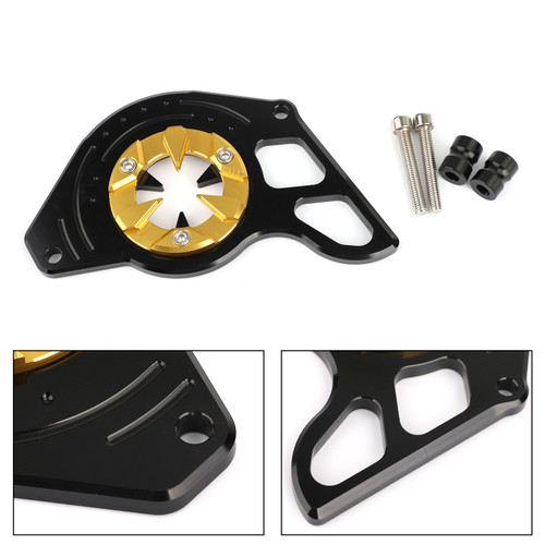 Left Side Front Sprocket Chain Guard Cover for Honda MSX125 13-15 MSX125SF 16-19 Gold