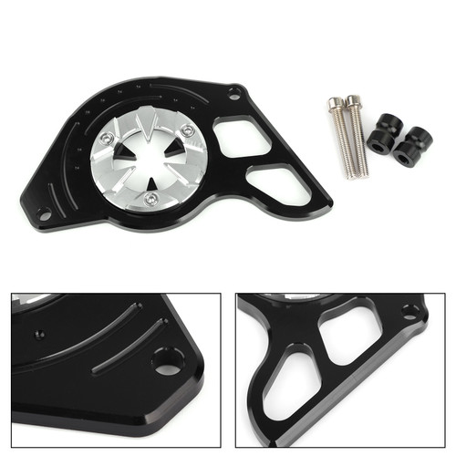 Left Side Front Sprocket Chain Guard Cover for Honda MSX125 13-15 MSX125SF 16-19 Silver