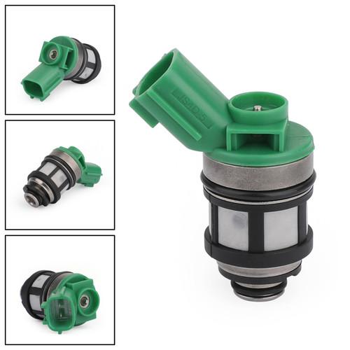 Fuel Injectors For Nissan Frontier 2.4L 98-04 Xterra 00-04 Pickup 96-97 Green