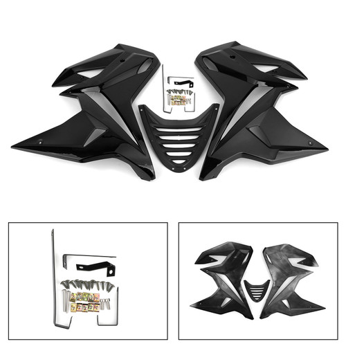 Cover Full Vehicle Board Protection Under Spoiler for Honda MSX125 2013-2015 Black