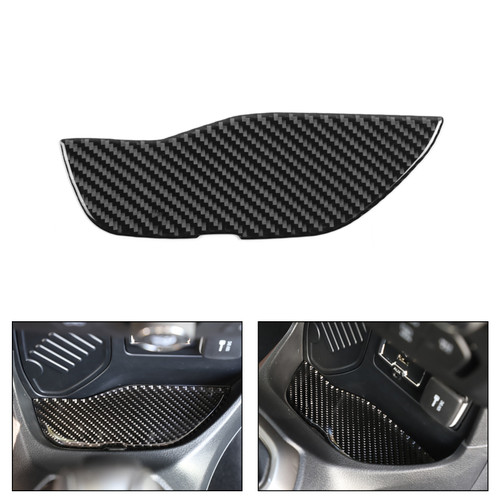 Gear Shift Front Storage Box Mat Carbon Fiber Cover For Renegade 2015-2020 CBN