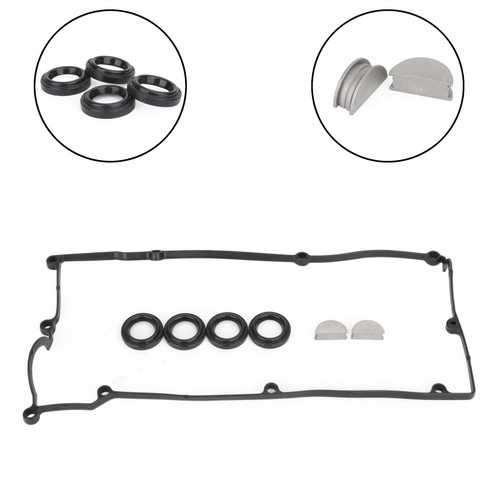 Valve Cover Gasket Set For Hyundai Accent 1.5L 1.6L 97-04 22441-26003 Black
