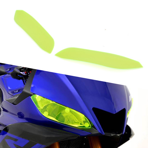 ABS Headlight Screen Protection Cover Headlight Guard for Yamaha YZF R3 2019-2020 GRN