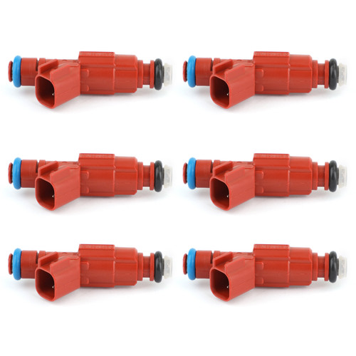 6Pcs 12-hole Fuel Injectors Replacement Fit For Cherokee Wrangler
