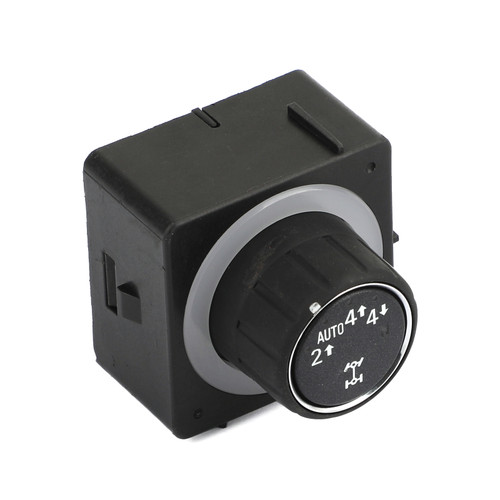 Transfer Case Selector Switch Knob Fit For Chevrolet Avalanche 2008-2013 Silverado 1500 2500 HD 2008-2014 Suburban 1500 2008-2013 Tahoe 2008-2014 BLK