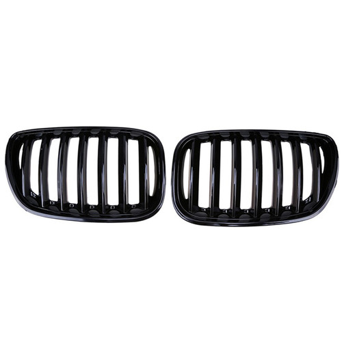 Front Kidney Grill Mesh Grille Fit BMW X5 E53 2004-2006 C