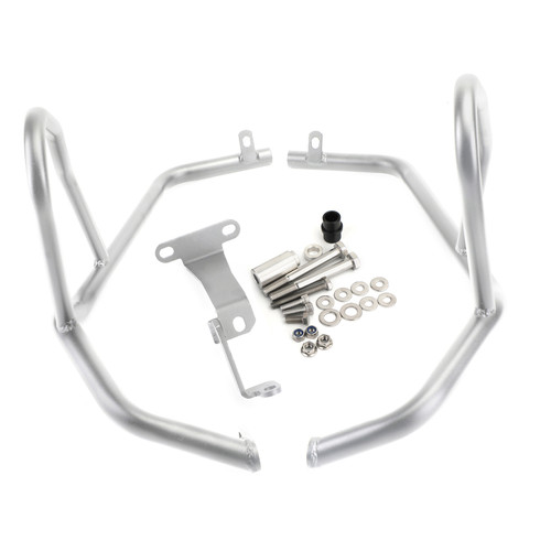 Front Upper Tank Crash Bars Side Engine Guard Bumper For BMW F750GS F850GS 18-20 SIL