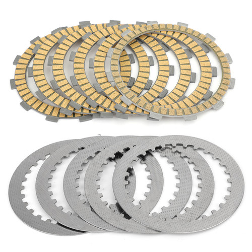 Clutch Plate Kit - Friction & Steel Plates For Honda CB400/F CB400SF CBR 400/500/600