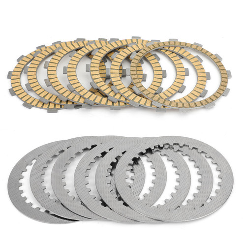 Clutch Plate Kit - Friction & Steel Plates For Honda CB750F Seven Fifty 92-02 CB750 Nighthawk 750 91-03