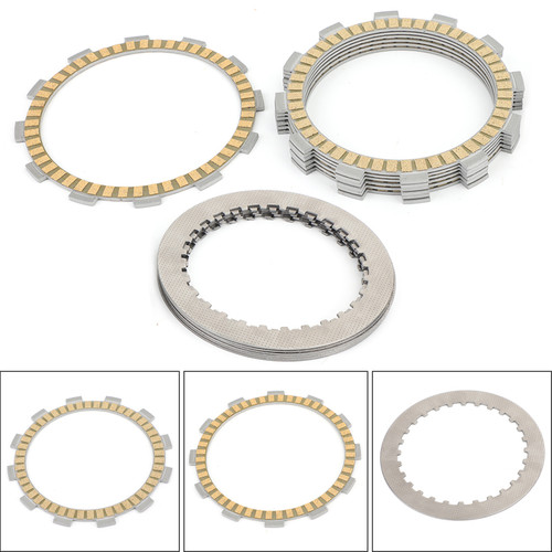 Clutch Plate Kit - Friction & Steel Plates For Suzuki VS VL VZ 400 750 800 Intruder/Boulevard SV 400 650