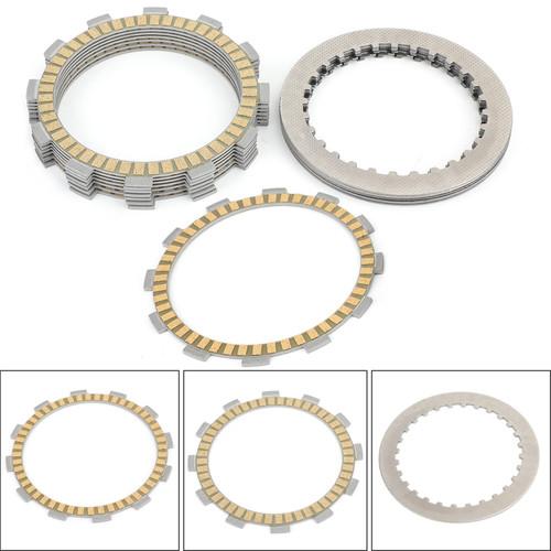 Clutch Plate Kit - Friction & Steel Plates For Suzuki GR650 D/XD 83-84