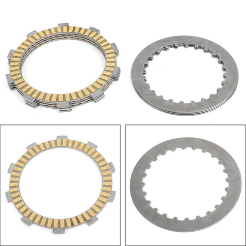 Clutch Plate Kit - Friction & Steel Plates For Yamaha FZ-16 FZ16 2010- YZF R15 2011-2018 YZF R15 SP 2014