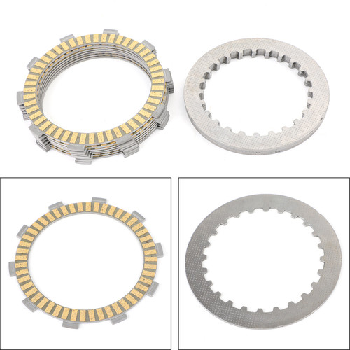 Clutch Plate Kit - Friction & Steel Plates For Honda ATV TRX400 Sportrax 400 EX 2002-2008 Sportrax 400 X 2009 TRX400EX Sportrax 400EX 1999-2008 TRX400X Sportrax 400X 2009-2014