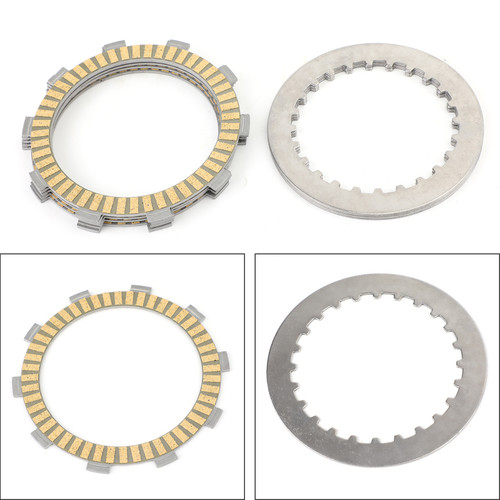 Clutch Plate Kit - Friction & Steel Plates For Honda ATC250ES Big Red 1985-1988 ATC250SX ATC250 1985-1987