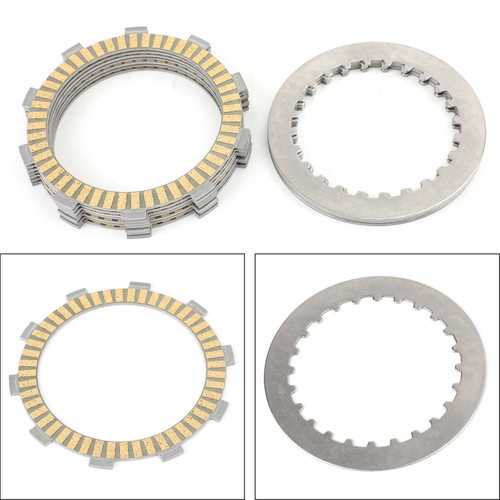 Clutch Plate Kit - Friction & Steel Plates For Honda ATV TRX420TM/FM FourTrax TRX500